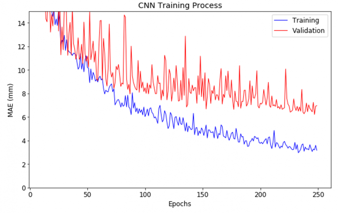 Machine Learning Training Process